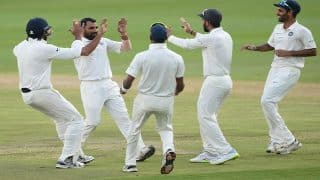 India Beat South Africa in Wanderers Test But Lose Series 1-2