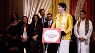 Justin Trudeau Dons a Veshti And Kurti For Pongal Celebrations With Tamil community in Canada