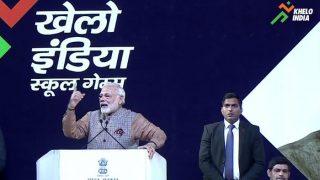 पीएम मोदी ने किया खेलो इंडिया स्कूल गेम्स का शुभारंभ