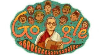 Mahasweta Devi's 92nd Birthday: Google Doodle Pays Tribute to Writer-Activist