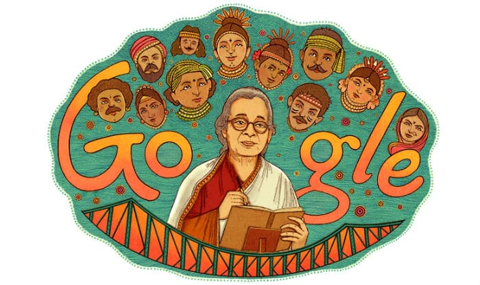Google Doodle celebrates writer-activist Mahasweta Devi's 92nd birth anniversary