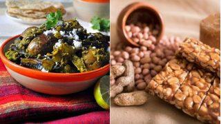 Makar Sankranti 2018 Recipes: How to Make Surti Undhiyu and Peanut Chikki For Sankranti