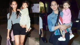 Shahid Kapoor - Mira Rajput's Daughter Misha Loves Getting Photographed! These Latest Pictures Are Proof!