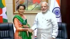 ASEAN Meet: PM Narendra Modi to Hold Bilateral Meetings With Aung San Suu Kyi, Two Other Leaders Today