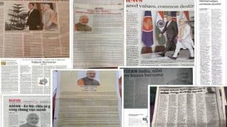 PM Narendra Modi's Op-ed on 'Shared Values, Common Destiny' Published in 27 ASEAN newspapers in 10 Languages