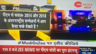 Prime Minister Narendra Modi's Interview With Zee News Editor Sudhir Chaudhary