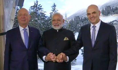 World Economic Forum 2018: PM Narendra Modi to Speak in Davos Shortly