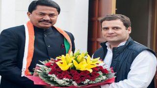 बीजेपी छोड़ने वाले सांसद नाना पटोले कांग्रेस में शामिल, राहुल गांधी ने किया स्वागत