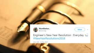 Happy New Year 2018: Twitterati's New Year's Resolutions Will Leave You In Splits
