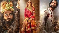 Padmaavat Release: Supreme Court Rejects Pleas by Rajasthan, Madhya Pradesh to Ban Film, Says States Must Ensure Law And Order Prevails