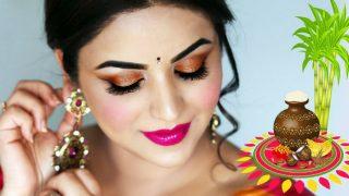Pongal 2018 Makeup: Simple Makeup to Look Gorgeous This Pongal
