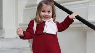 Princess Charlotte Just Attended First Day of School and Kate Middleton Clicked These Adorable Pictures