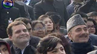 Rahul Gandhi Seated in 6th Row During Republic Day Parade: BJP Slams Congress For 'Cheap Politics' Remark, Says Our Chiefs Were Not Even Given Seats in VIP Enclosure in The Past