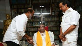 Rajinikanth Meets DMK Chief M Karunanidhi, Says We Have a Very Good Friendship