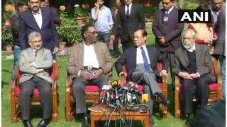 सुप्रीम कोर्ट के 4 जजों ने की प्रेस कॉन्फ्रेंस, SC पर लगाए गंभीर आरोप