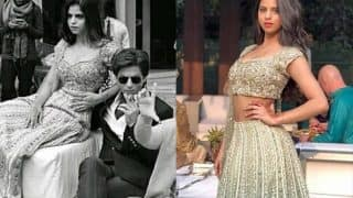 Suhana Khan Looks Like A Princess Donning Indian Ensembles At A Family Wedding