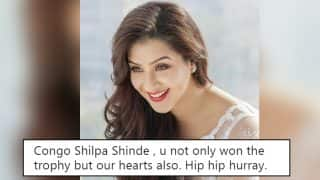 Bigg Boss 11 Finale: Shilpa Shinde Wins The Reality Show and Twitter Erupts With Wishes