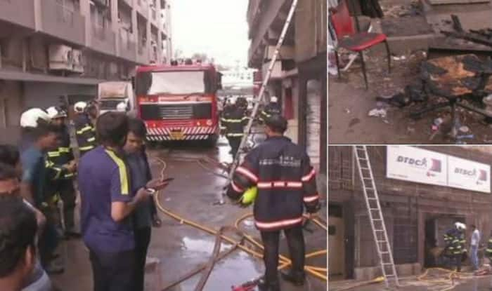 Fire breaks out at Mumbai's Cine Vista studio