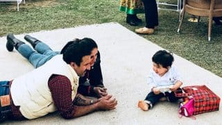 Unseen Picture Of Kareena Kapoor Khan And Saif Ali Khan With Taimur On His First Birthday
