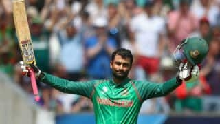 Tamim Iqbal Faces Injury Scare Ahead of World Cup Clash Against South Africa