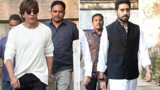 Shah Rukh Khan, Abhishek Bachchan Pay Their Respects To Nikhil Dwivedi's Father Who Breathed His Last Today