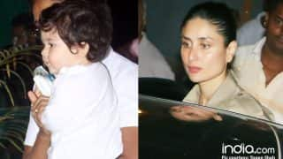 Taimur Ali Khan Accompanies Mommy Kareena Kapoor Khan To The Gym - See Pics