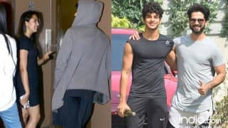 Ishaan Khatter Celebrates New Years By Accompanying Shahid Kapoor To The Gym And Mira Rajput To Watch A Movie - View Pics