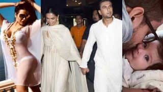 Deepika Padukone - Ranveer Singh's PDA, Trishala Dutt's Makeover, Taimur Ali Khan, Inaaya Feature In This Week's Viral Pictures