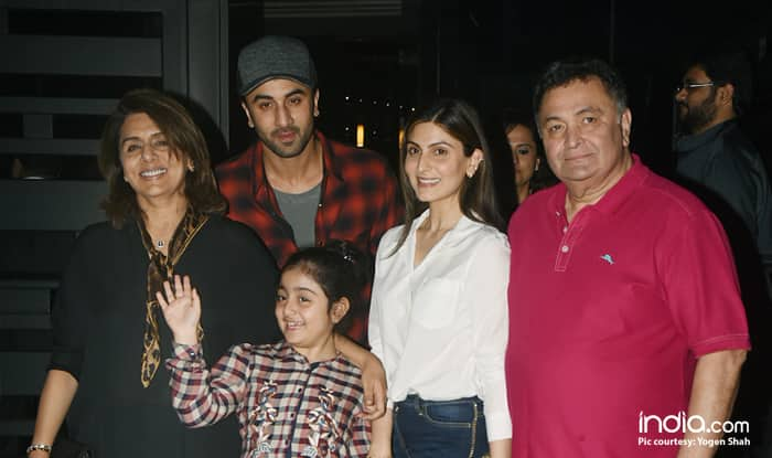 Ranbir Kapoor Showers Love On Niece Samara