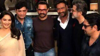 Ajay Devgn, Madhuri Dixit And Anil Kapoor Starrer Total Dhamaal Goes On Floor Today; Aamir Khan Gives The Mahurat Clap