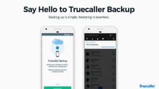 Truecaller Has a New Feature And it Can Backup Contacts, Call History, Block List And More