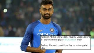 IPL Auction 2018: Jaydev Unadkat Becomes the Costliest Indian Player on Day 2, Twitterati Shares Hilarious Jokes and Memes