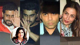 Farah Khan Birthday : Arjun Kapoor, Malaika Arora, Abhishek Bachchan, Karan Johar Make A Stylish Appearance At The Party - View Pics