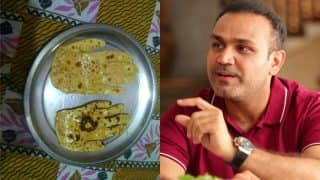 Virender Sehwag and Parthiv Patel's Twitter Exchange Over Palm-Shaped Rotis Will Leave You In Splits