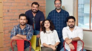 Official:Abhishek Bachchan Joins Taapsee Pannu, Vicky Kaushal In Anurag Kashyap's Manmarziyan
