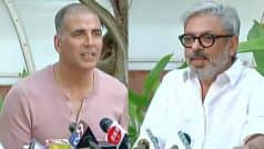 Akshay Kumar : I Understand How Essential It Is For Sanjay Leela Bhansali To Release Padmaavat ASAP