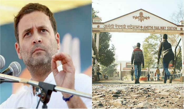 Rahul Gandhi on first visit to Amethi after becoming Congress president