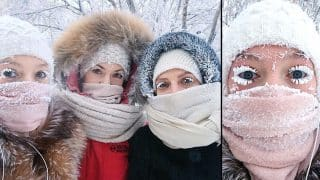 Oymyakon, World's Coldest Village Records a Temperature of -62°C Before Breaking the Thermometer