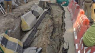 Chennai: 10 Feet Long Stretch of Anna Salai Road, Where Metro Construction is Underway, Caves in