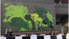दिल्ली के मोती बाग मेट्रो स्टेशन पर हो रहा है खास आर्ट वर्क, जानें क्यों