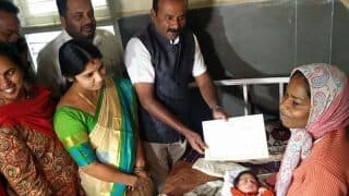 First Baby Girl Born on New Year's Eve In Bengaluru Government Hospital Gets Rs 5 Lakh From Mayor