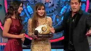 Shilpa Shinde dance party video after winning Bigg Boss 11  | बिग बॉस विनर बनने के बाद शिल्पा शिंदे ने जीत की ख़ुशी में किया जबरदस्त डांस