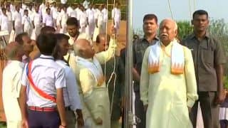Republic Day 2018: RSS Chief Mohan Bhagwat Hoists Flag in Palakkad School Against Kerala Government's Orders