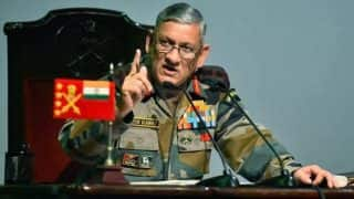 Army Chief General Bipin Rawat Warns Stone Pelters in Kashmir, Says 'If You Want to Fight us, Then we Will Fight You With All Our Force'