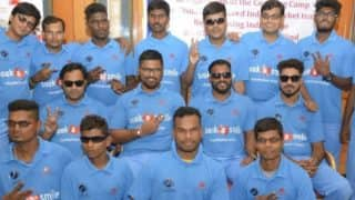 India to Take on Pakistan in Blind Cricket World Cup 2018