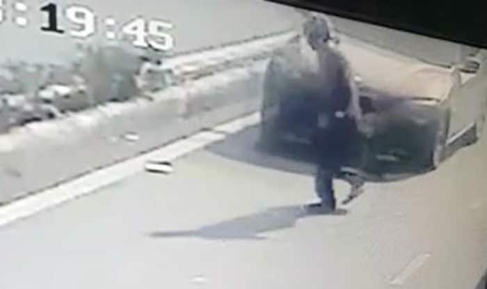 Speeding BMW kills 50-year-old in Delhi, incident caught on camera