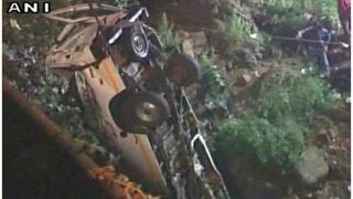 महाराष्ट्र: श्रद्धालुओं से भरी बस पंचगंगा नदी में गिरी, 13 की मौत