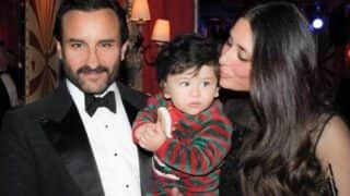 This Unseen Picture From Taimur Ali Khan's Switzerland Vacation With Parents Saif Ali Khan - Kareena Kapoor Khan Is Adorable