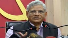 Considering Impeachment Motion Against CJI Dipak Misra in Budget Session, Says CPM's Sitaram Yechuri