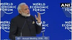 दावोस में पीएम मोदी का हिंदी में भाषण, दुनिया को बताई तीन सबसे बड़ी चुनौतियां